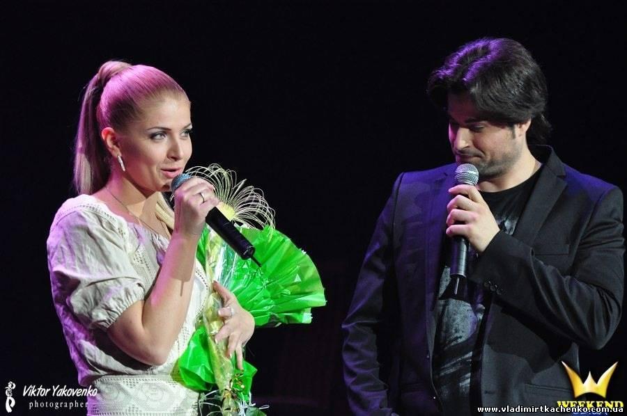 Владимир Ткаченко и Ирина Борисюк